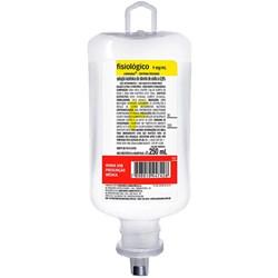 Solução Fisiológica 0,9% Bolsa 250ML - Sanobiol Cristália<br /> <br />