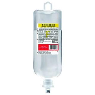 Solução Fisiológica 0,9% Bolsa 500ml - Sanobiol Cristália