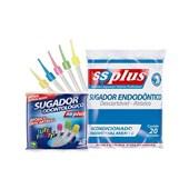 Sugador Odontologico Endodontico c/  20 Gratis 01 Pct Sugador Simples Ss Plus