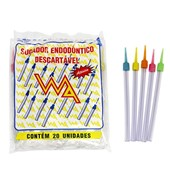 Sugador Plastico Endodontico c/ 20 Wa