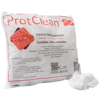 Touca Sanfonada Branca Prot Clean c/ 100 Protdesc