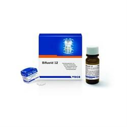 Verniz de Fluor Bifluorid 12 4g + Solvente Voco