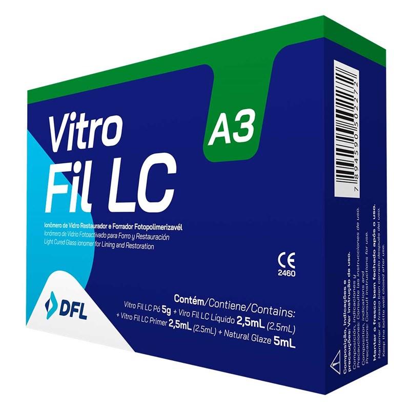 Vitro Fil LC Kit Restaurador Fotopolimerizável - Nova DFL
